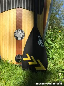 Thurso Surf Waterwalker SUP - super light weight carbon fiber paddle